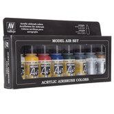 Basics Model Airbrush Acrylic Paints