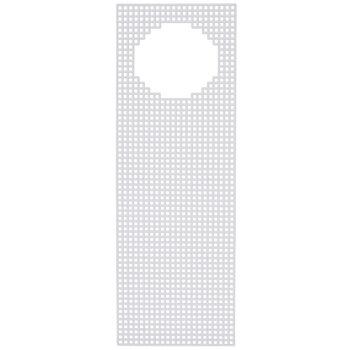 Door Hanger Plastic Canvas Shape