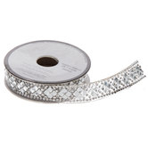 Rhinestone Iron-On Trim - 19/32""