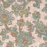 Jacobean Paisley & Floral Duck Cloth Fabric