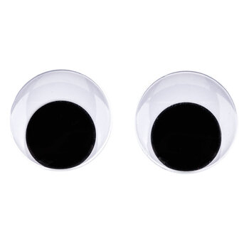 Paste-On Wiggle Eyes - 30mm