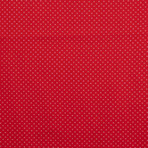 Red & White Cross Cotton Calico Fabric