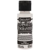 White Americana Enchanted Shimmer Acrylic Paint