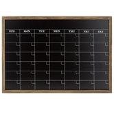 Monthly Calendar Chalkboard