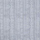 Gray Wood Planks Cotton Calico Fabric