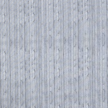 Gray Wood Planks Cotton Calico Fabric