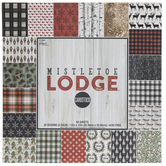 "Mistletoe Lodge Cardstock Paper Pack - 12"" x 12"""