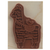 Llama Love Rubber Stamps