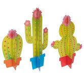 Cactus Chipboard Decor