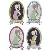 Pregnancy Stages 3D Stickers