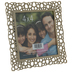 Gold Geometric Cutout Metal Frame - 4