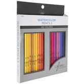 The Fine Touch Watercolor Pencils - 48 Piece Set