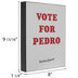 Vote For Pedro Wood Wall Decor