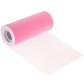 "Taffy Pink Matte Tulle - 6"""