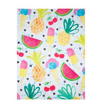 Fruit & Ice Cream Felt Sheet