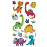 Baby Dinosaur Foil Stickers