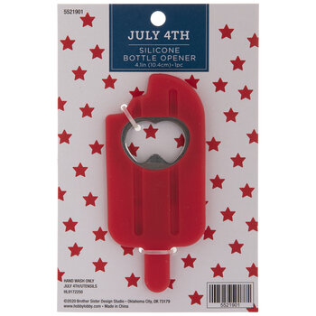 Red Ice Pop Bottle Opener