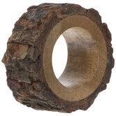 Tree Bark Wood Napkin Ring