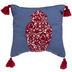 Ginger Jar Pillow With Tassels