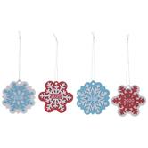 Snowflake Foam Ornament Craft Kit