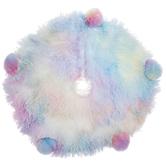 Mini Pastel Rainbow Pom Pom Tree Skirt