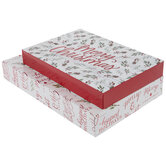Merry Christmas Branches Gift Boxes