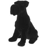 Black Velvet Scottie Dog