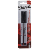 Black Sharpie Ultra Fine Markers - 2 Piece Set