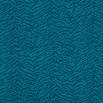 Jewel Tone Green Tiger Print Apparel Fabric