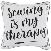 Sewing Therapy Pillow Cover
