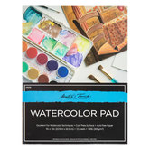 "Watercolor Paper Pad - 9"" x 12"""