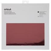 Red Cricut Foil Transfer Sheets