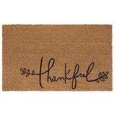 Thankful Coir Doormat