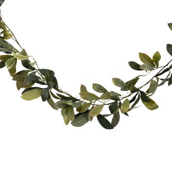 Green Laurel Leaf Garland