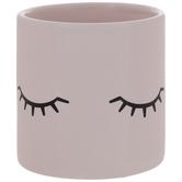 Pink & Black Eyelashes Container