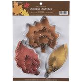 Leaf Metal Cookie Cutters
