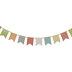 Multi-Color Polka Dot Pennant Banner