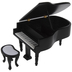 Miniature Grand Piano With Bench