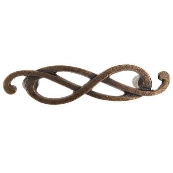 Antique Bronze Twist Metal Pull