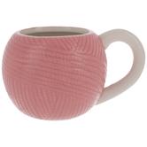 Pink Yarn Ball Mug