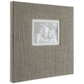 "Linen Post Bound Scrapbook Album - 12"" x 12"""