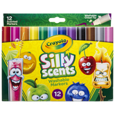 Crayola Silly Scents Chisel Tip Markers - 12 Piece Set
