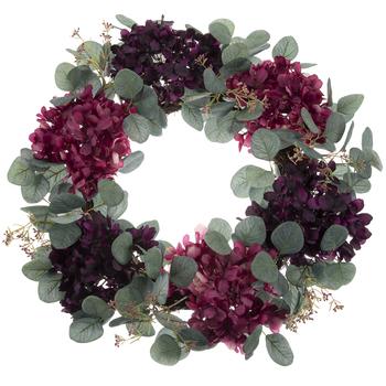 Hydrangea Eucalyptus Wreath Hobby Lobby 1732957