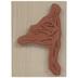 Ballet Frog Rubber Stamp