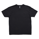 Heather Dark Gray Adult Tri-Blend Crew T-Shirt - XL