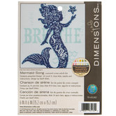 Mermaid Song Counted Cross Stitch Kit