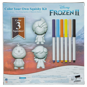 Frozen 2 Color Your Own Squishy Kit