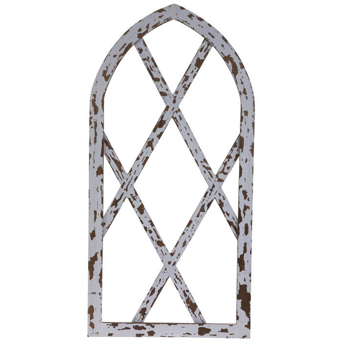 Chippy White Arched Wood Wall Decor Hobby Lobby 1665447