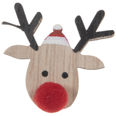 Red Nosed Reindeer Embellishments