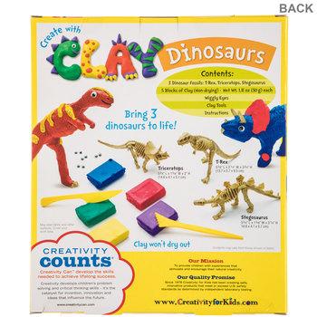 Clay Dinosaurs Kit